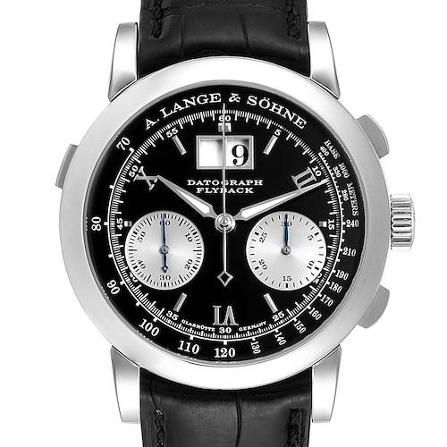 Photo of A. Lange Sohne Datograph Platinum 39mm Mens Watch 403.035