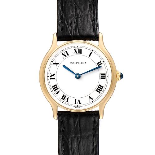 Photo of Cartier Ronde Paris 18K Yellow Gold Ladies Vintage Watch