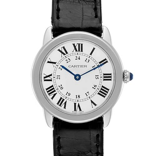 Photo of Cartier Ronde Solo Silver Dial Steel Ladies Watch W6700155
