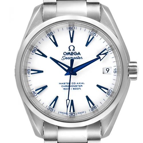 Photo of Omega Seamaster Aqua Terra Titanium Mens Watch 231.90.39.21.04.001 Box Card