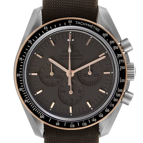 Photo of Omega Speedmaster Apollo 11 Titanium Moonwatch 311.62.42.30.06.001 Box Card
