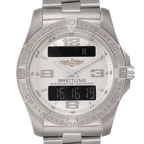 Photo of Breitling Aerospace Avantage Titanium Perpetual Alarm Watch E79362