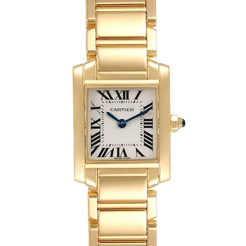 Photo of Cartier Tank Francaise Yellow Gold Quartz Ladies Watch W50002N2