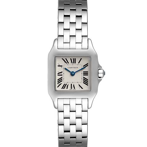 Photo of Cartier Santos Demoiselle Stainless Steel Ladies Watch W25064Z5