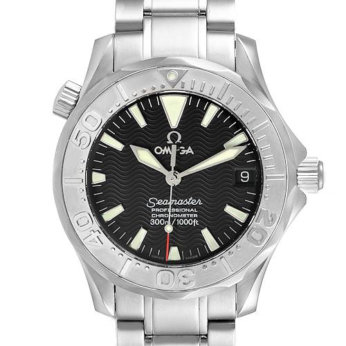 Photo of Omega Seamaster 36mm Midsize Black Wave Dial Steel Watch 2236.50.00