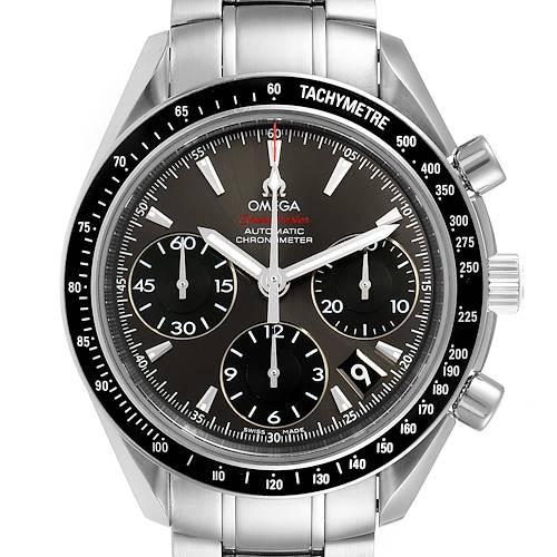 Photo of Omega Speedmaster Date Grey Dial Steel Mens Watch 323.30.40.40.06.001