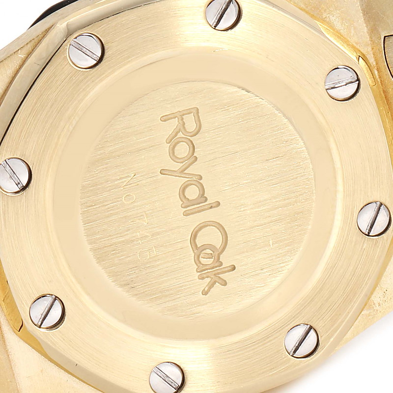 Audemars Piguet Royal Oak Yellow Gold Automatic Ladies Watch SwissWatchExpo