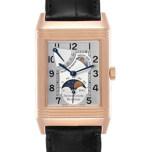 Photo of Jaeger LeCoultre Reverso Sun Moon Rose Gold Watch 270.2.63 Q3042420