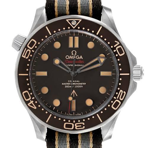 Photo of Omega Seamaster 300M 007 Edition Titanium Watch 210.92.42.20.01.001 Box Card