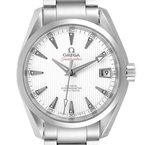 Photo of Omega Seamaster Aqua Terra 38.5 Diamond Watch 231.10.39.21.54.001