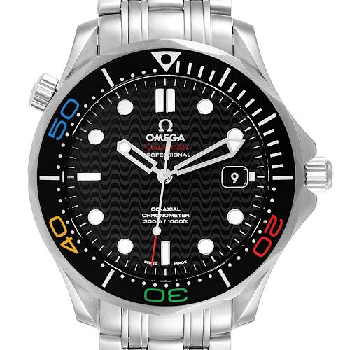 Photo of Omega Seamaster Olympic Rio 2016 Limited Watch 522.30.41.20.01.001 Box Card