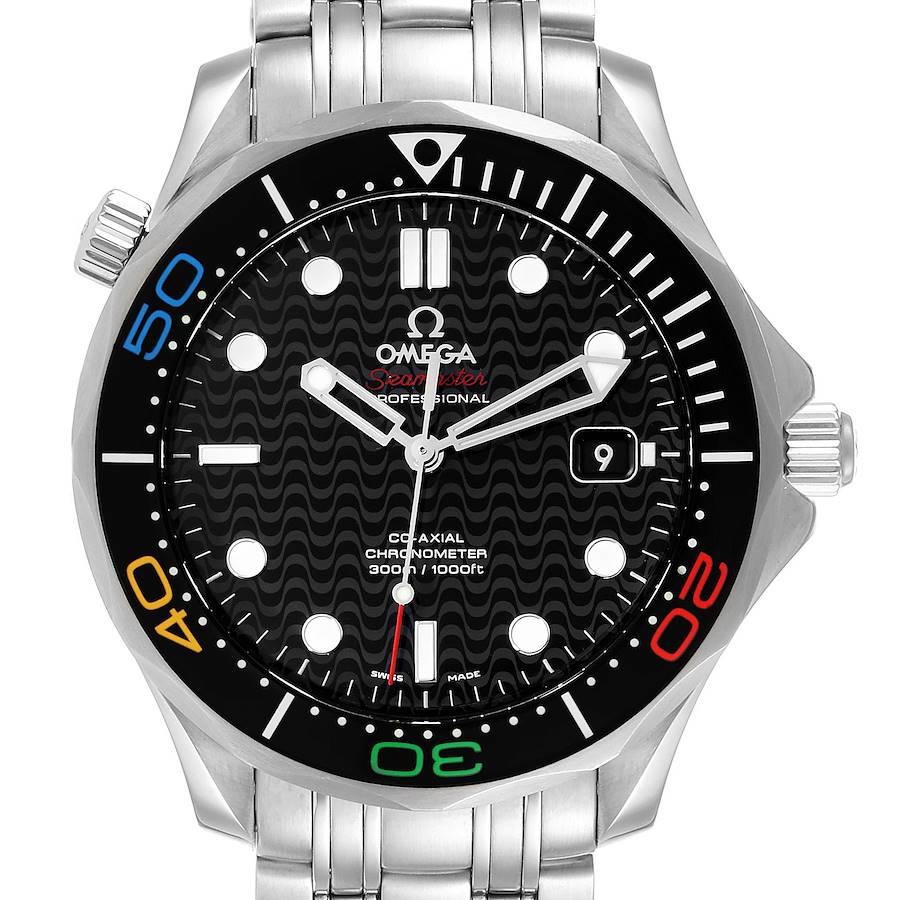Omega Seamaster Olympic Rio 2016 Limited Watch 522.30.41.20.01.001 Box Card SwissWatchExpo