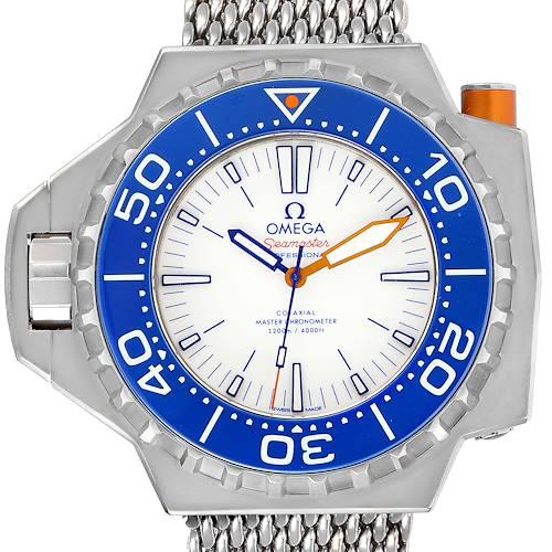 Photo of Omega Seamaster Ploprof 1200m Titanium Watch 227.90.55.21.04.001 Box Card