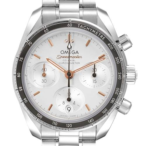 Photo of Omega Speedmaster Co-Axial Chronograph Watch 324.30.38.50.02.001 Box Card