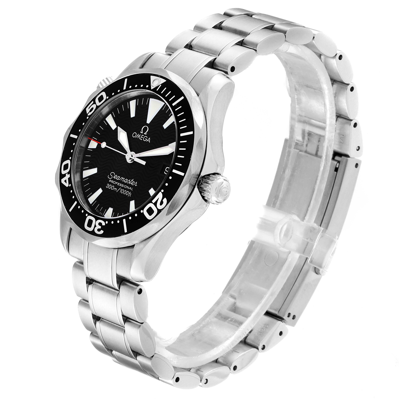 Omega Seamaster Midsize 36 Quartz Steel Mens Watch 2262.50.00 SwissWatchExpo