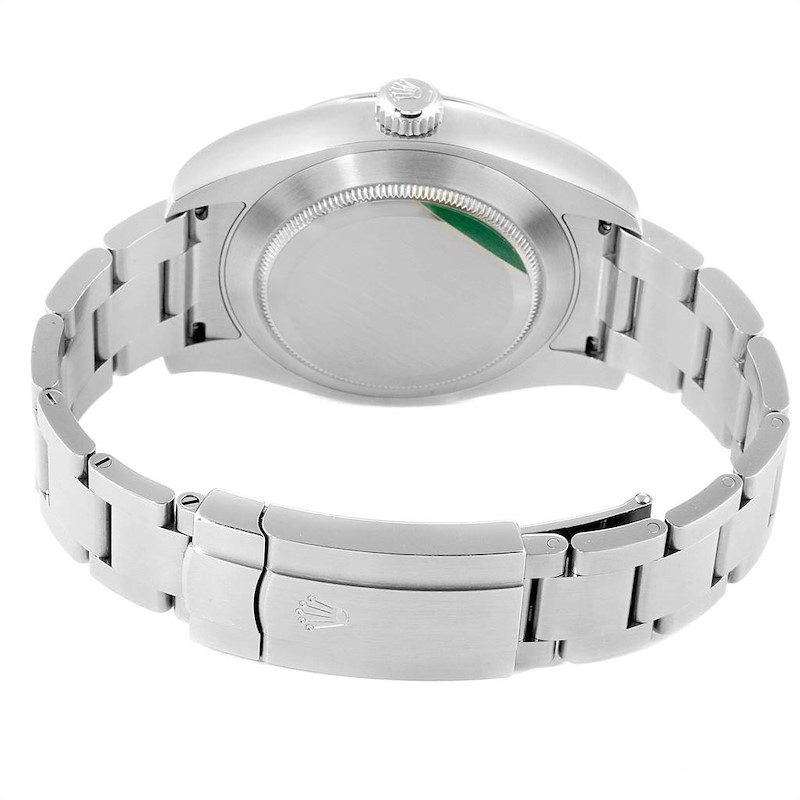 Rolex Oyster Perpetual Air King 40mm Green Hand Steel Mens Watch 116900 PARTIAL PAYMENT SwissWatchExpo