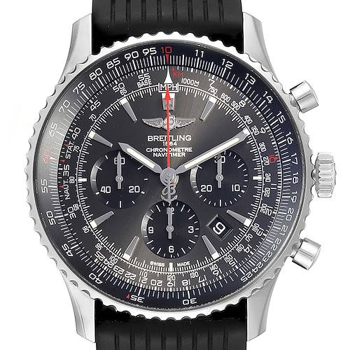 Photo of Breitling Navitimer 01 Stratos Gray Dial Limited Edition Watch AB0127 Box Card