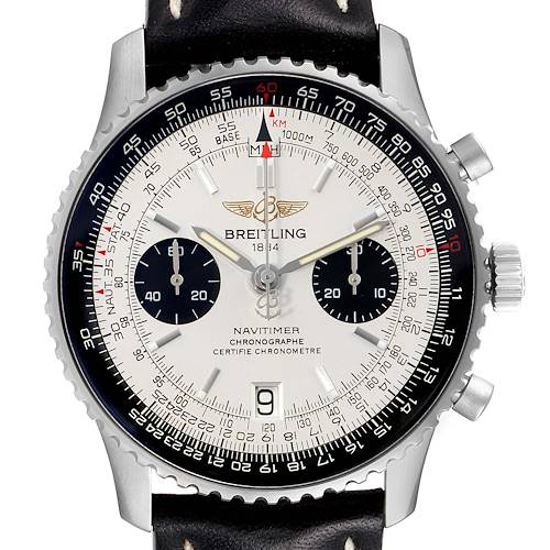 Photo of Breitling Navitimer Exemplaires Limited Edition Steel Watch A23330 Unworn