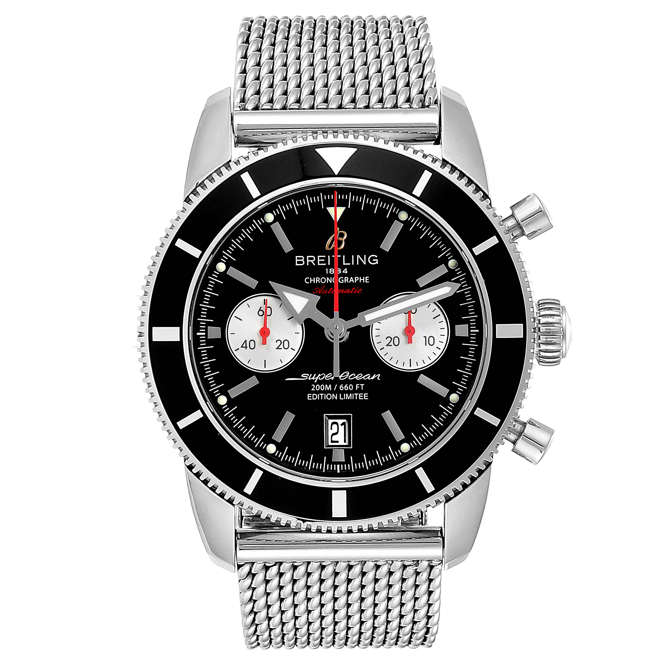 Breitling SuperOcean Heritage 125 Anniversary Limited Watch A23320 SwissWatchExpo