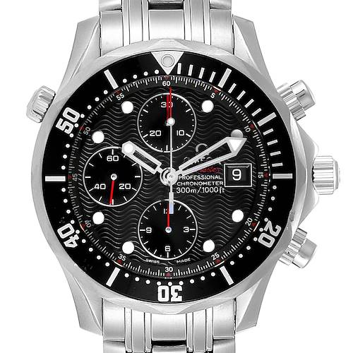 Photo of Omega Seamaster 300M Chronograph Black Dial Watch 213.30.42.40.01.001
