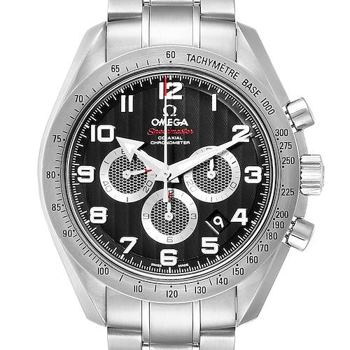 Omega Speedmaster Broad Arrow Black Dial Mens Watch 321.10.44.50.01.001 Box Card