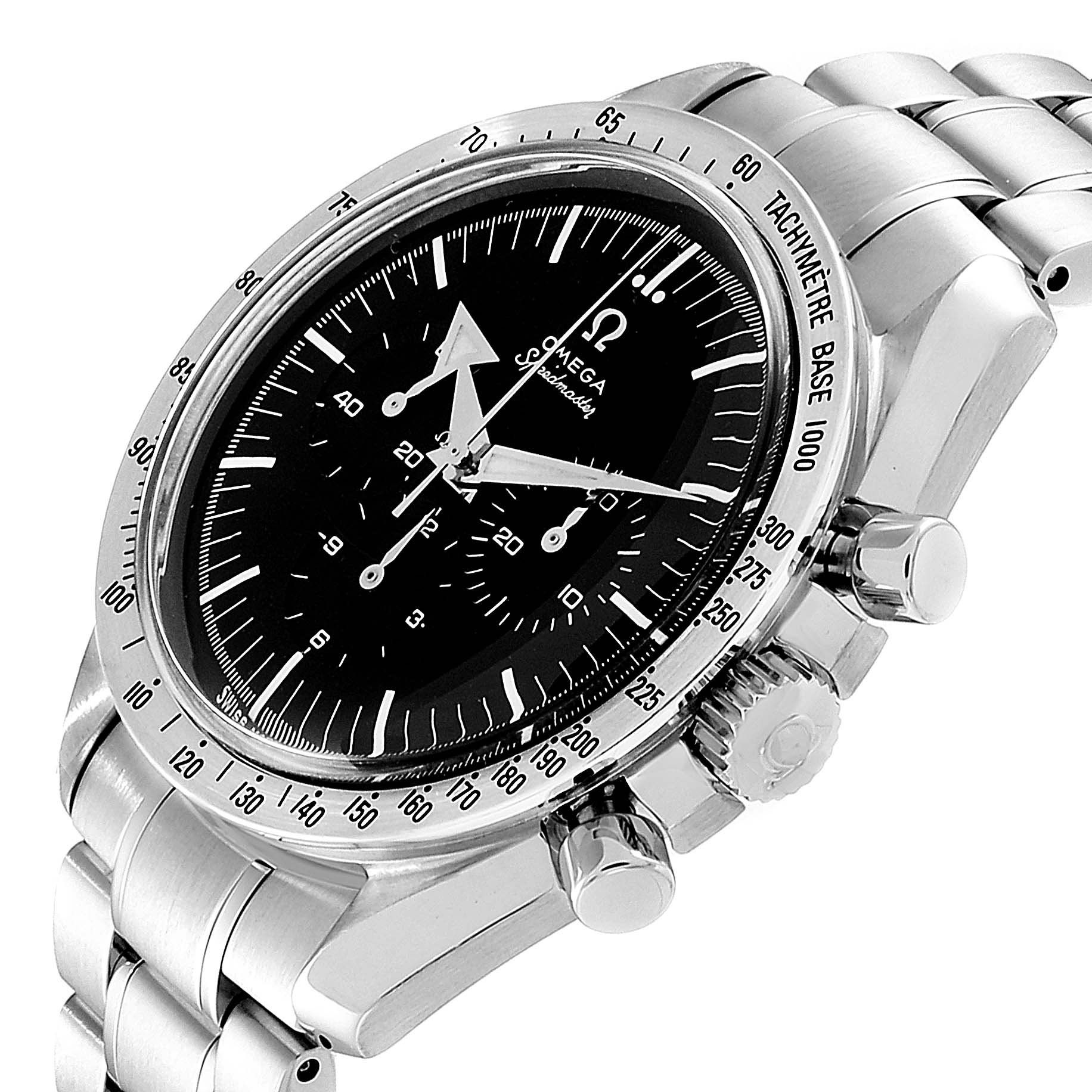 Omega Speedmaster Broad Arrow GMT Mens Watch 3594.50.00 SwissWatchExpo