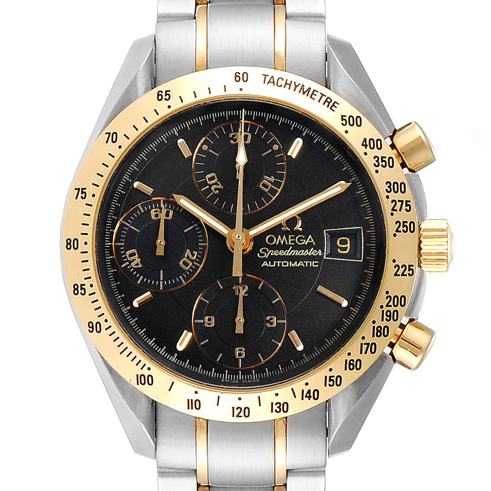 Omega Speedmaster Steel Yellow Gold Automatic Watch 3313.50.00