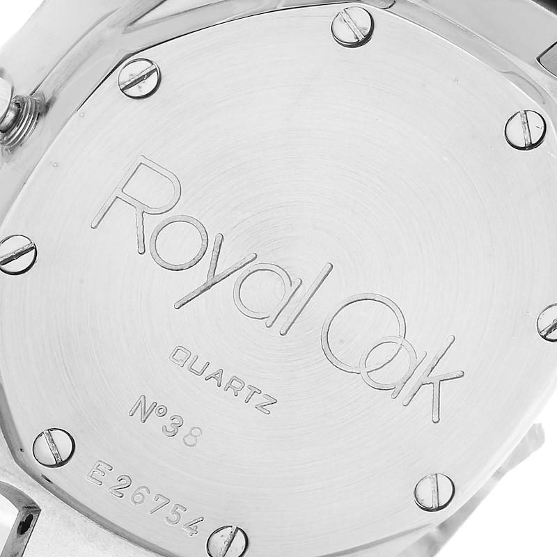 Audemars Piguet Royal Oak 34mm Blue Dial Steel Ladies Watch 57175ST SwissWatchExpo