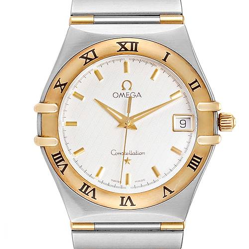 Photo of Omega Constellation Steel 18K Yellow Gold Mens Watch 1312.30.00 Card