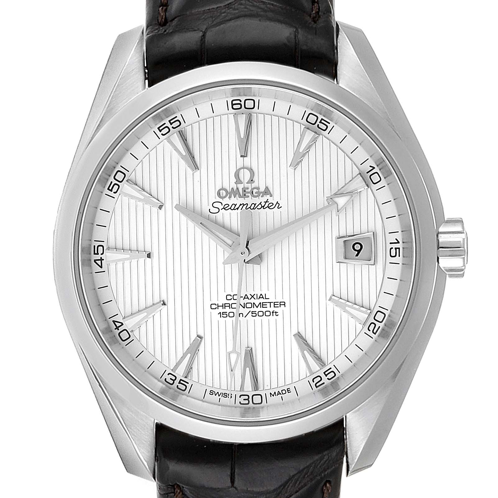 Omega Seamaster Aqua Terra Co-Axial Mens Watch 231.13.42.21.02.001 Box Card