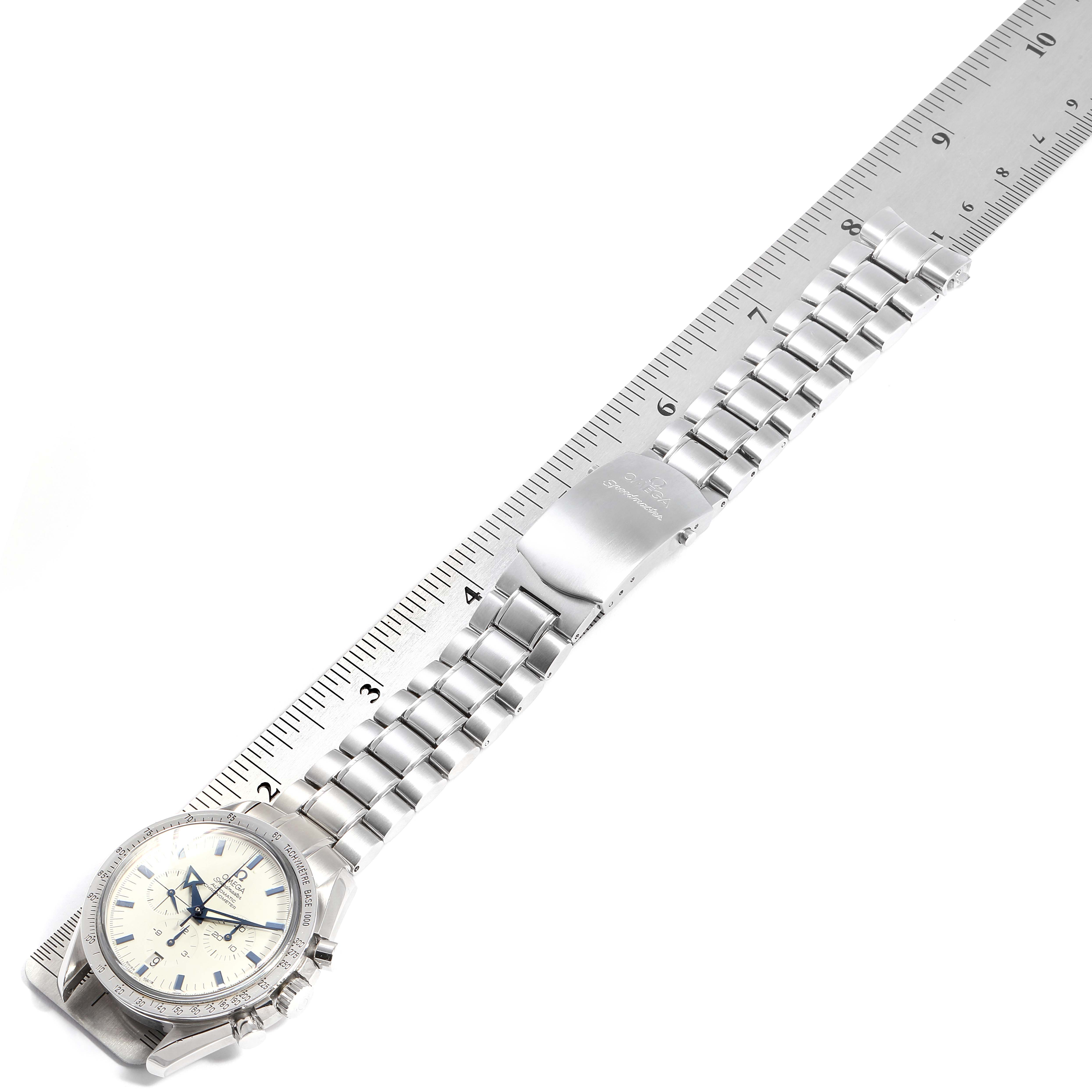 Omega Speedmaster Broad Arrow 1957 Chronograph Watch 3551.20.00 Box Card SwissWatchExpo