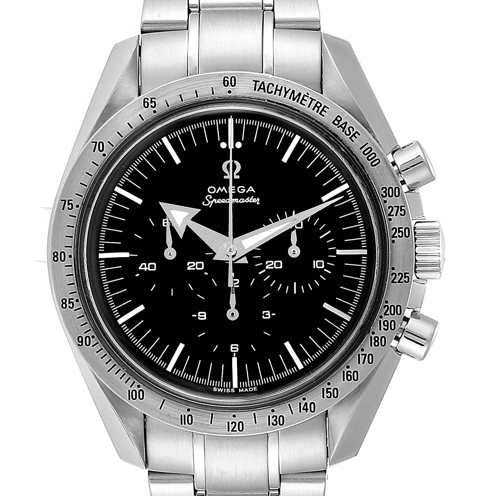 Omega Speedmaster Broad Arrow GMT Mens Watch 3594.50.00