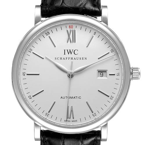 Photo of IWC Portofino Silver Dial Automatic Steel Mens Watch IW356501