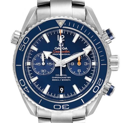 Photo of Omega Planet Ocean Co-Axial Titanium Watch 232.90.46.51.03.001 Box Card
