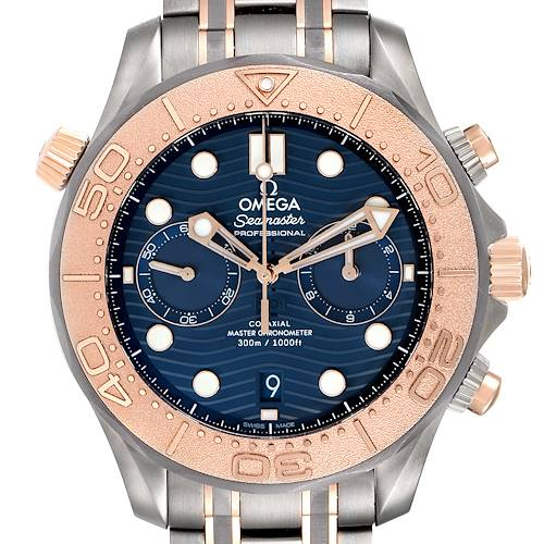 Photo of Omega Seamaster Diver Master Chronometer Watch 210.60.44.51.03.001 Unworn