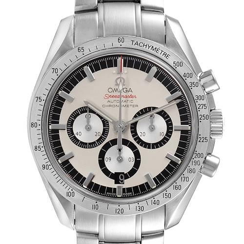 Photo of Omega Speedmaster Schumacher Legend Limited Edition Watch 3506.31.00 Card