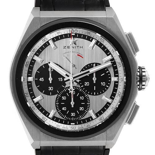 Photo of Zenith Defy El Primero 21 Chronograph Titanium Watch 95.9005.9004 Box Papers