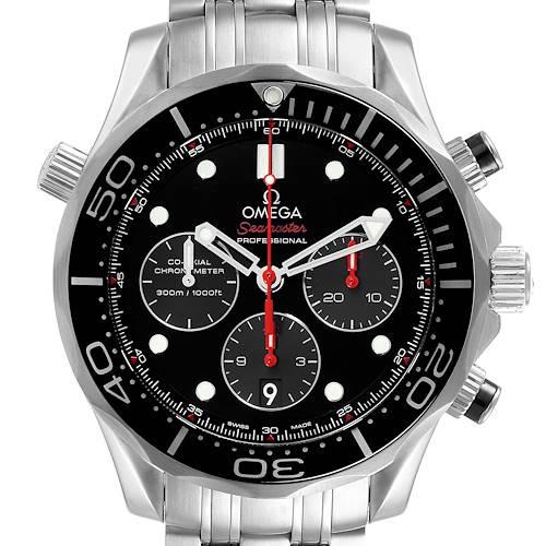 Photo of Omega Seamaster James Bond 007 Steel Watch 212.30.44.50.01.001 Box Card