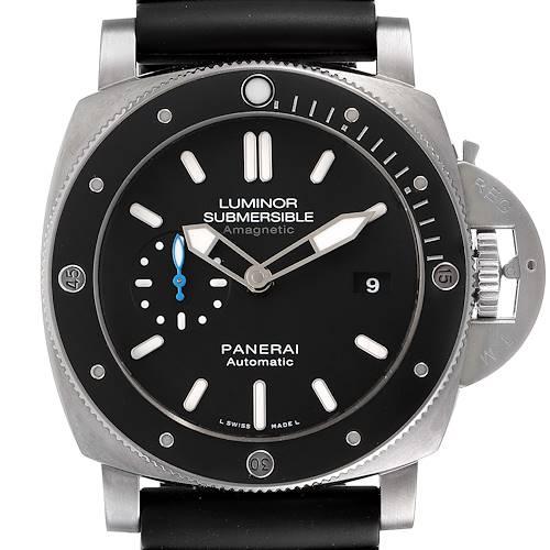 Photo of Panerai Luminor Submersible 1950 Amagnetic 3 Days Watch PAM01389 Box Papers