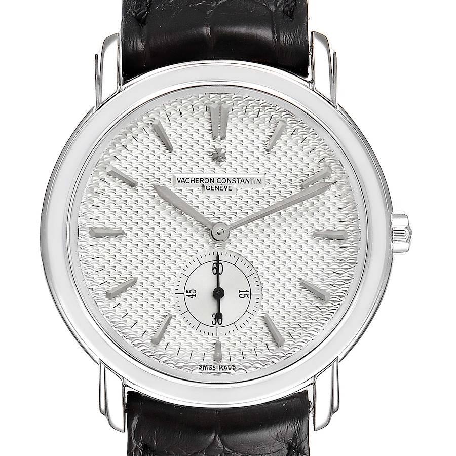 Vacheron Constantin Malte Grande Classique White Gold Mens Watch 81000 SwissWatchExpo