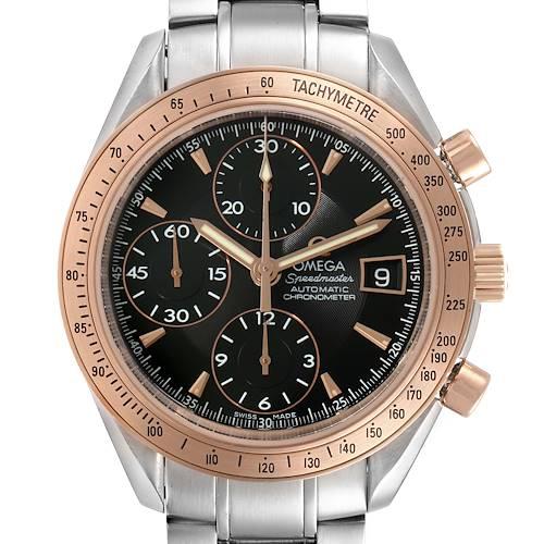 Photo of Omega Speedmaster 8157 Steel Rose Gold Watch 323.21.40.40.01.001 Box Card