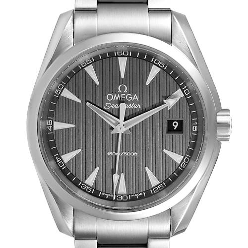 Photo of Omega Seamaster Aqua Terra Steel Mens Watch 231.10.39.60.06.001 Box Card