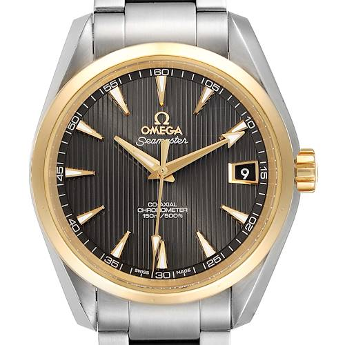 Photo of Omega Seamaster Aqua Terra Steel Yellow Gold Watch 231.20.39.21.06.004