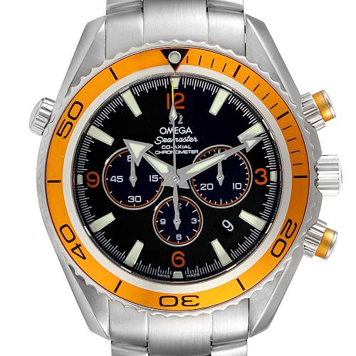 Photo of Omega Seamaster Planet Ocean XL Chrono Mens Watch 2218.50.00 Card