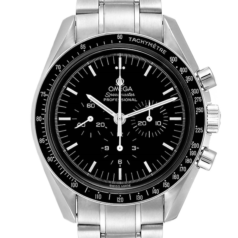 Omega Speedmaster Chronograph Mens MoonWatch 3570.50.00 Box Card SwissWatchExpo