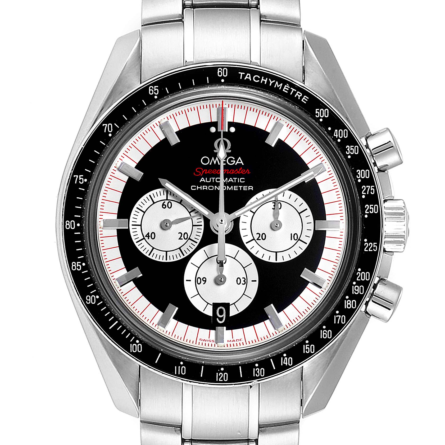 Omega Speedmaster Schumacher Legend LE Mens Watch 3507.51.00 Box Card