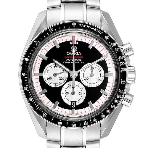 Photo of Omega Speedmaster Schumacher Legend LE Mens Watch 3507.51.00 Box Card