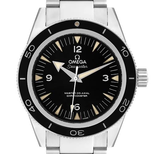 Photo of Omega Seamaster 300 Master Co-Axial Mens Watch 233.30.41.21.01.001 Box Card