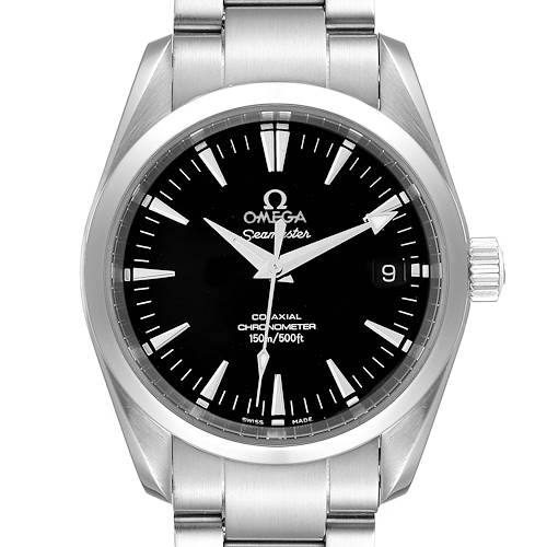 Photo of Omega Seamaster Aqua Terra 36 Black Dial Steel Watch 2504.50.00