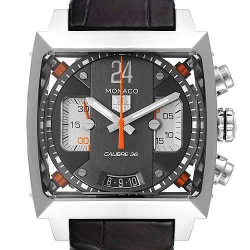Photo of Tag Heuer Monaco Twenty Four Chronograph Mens Watch CAL5112 Box Papers